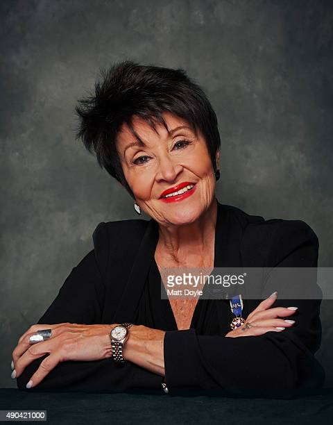 Actress Chita Rivera is photographed on September 11 in New York City