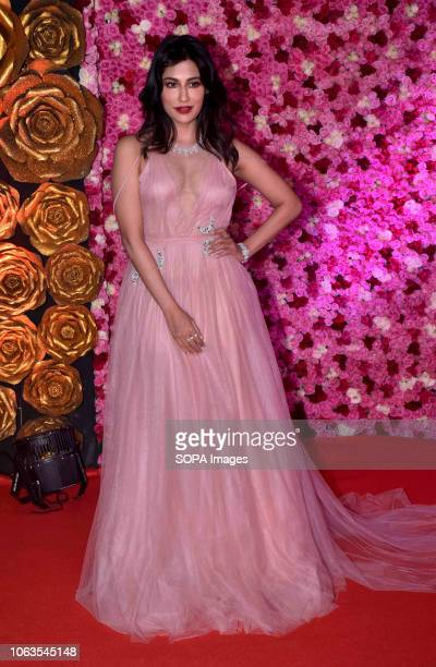 Actress Chitrangada Singh seen on the red carpet during the LUX GOLDEN ROSE Awards 2018 at the NCSI Dome Worli in Mumbai