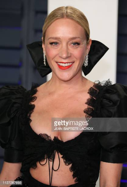 Actress Chloë Sevigny attends the 2019 Vanity Fair Oscar Party following the 91st Academy Awards at The Wallis Annenberg Center for the Performing...