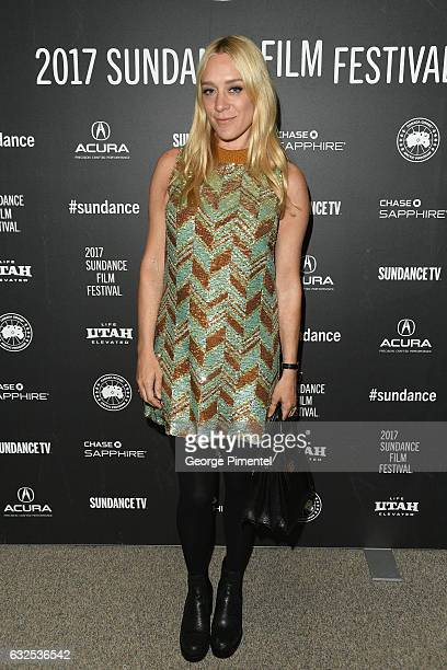 Actress Chloë Sevigny attends the Beatriz At Dinner Premiere at Eccles Center Theatre on January 23 2017 in Park City Utah