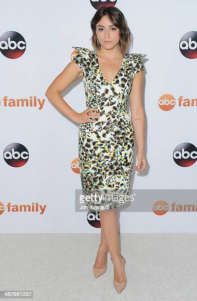 Actress Chloe Bennet arrives at Disney ABC Television Group's 2015 TCA Summer Press Tour at the Beverly Hilton Hotel on August 4 2015 in Beverly...