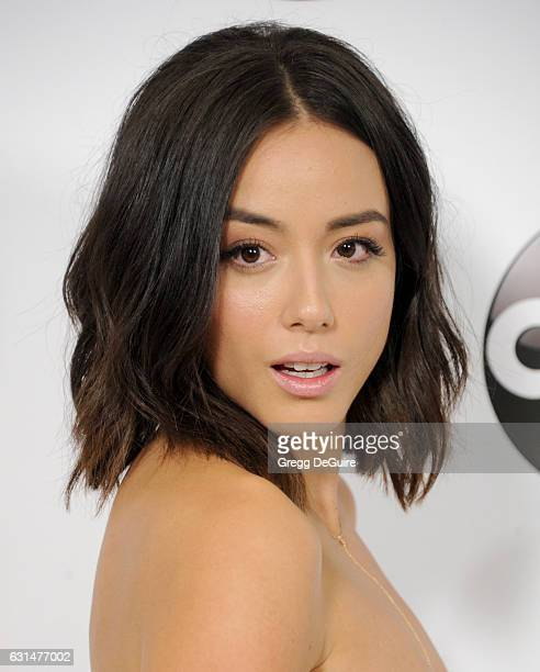 Actress Chloe Bennet arrives at the 2017 Winter TCA Tour Disney/ABC at the Langham Hotel on January 10 2017 in Pasadena California
