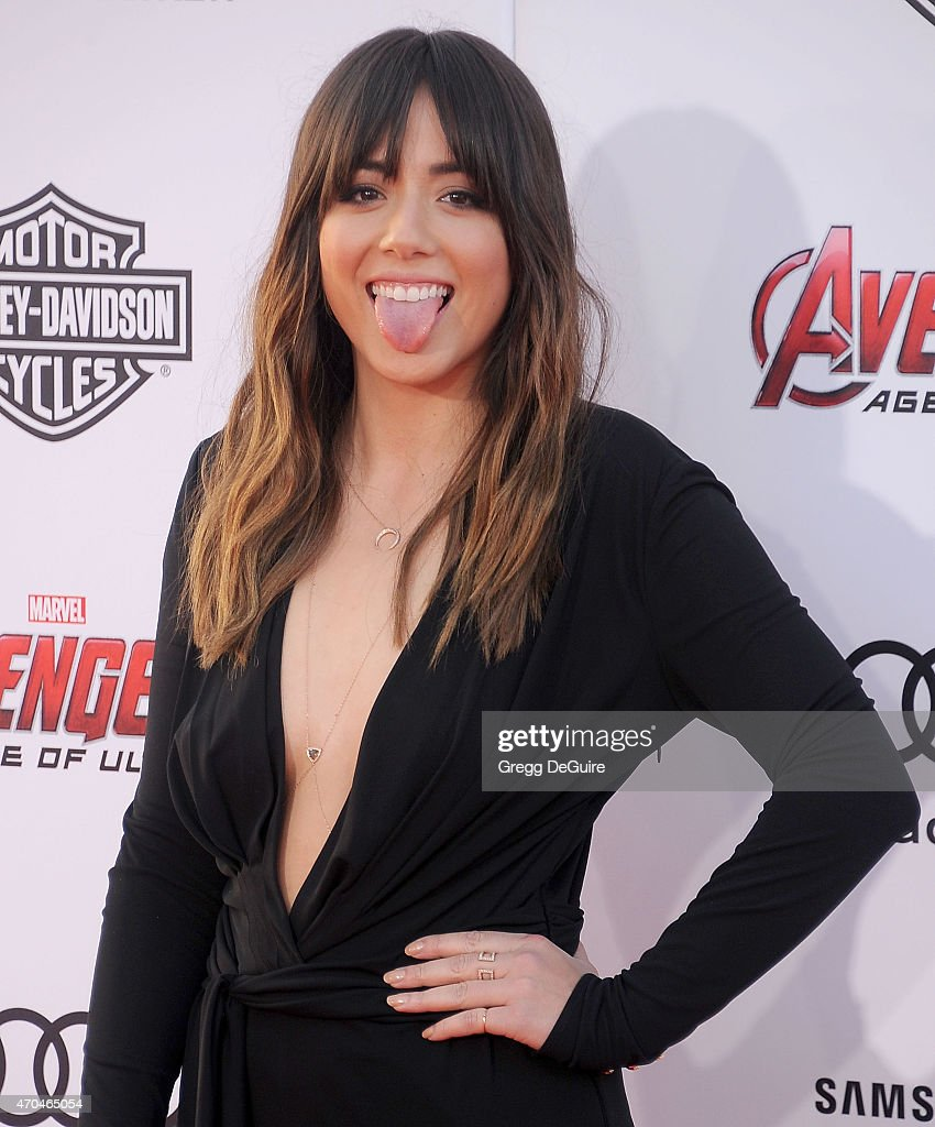 Actress Chloe Bennet arrives at the Los Angeles premiere of Marvel's 'Avengers: Age Of Ultron' at Dolby Theatre on April 13, 2015 in Hollywood, California.