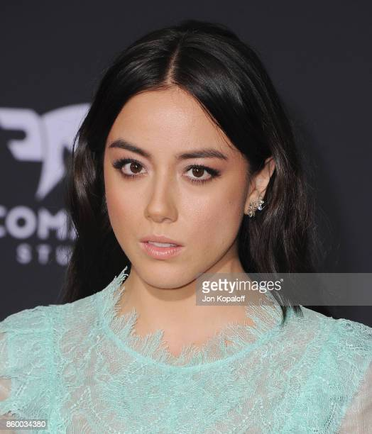 Actress Chloe Bennet arrives at the Los Angeles Premiere Thor Ragnarok on October 10 2017 in Hollywood California