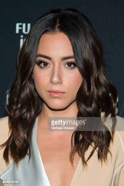 Actress Chloe Bennet attends 2017 Harper's Bazaar Icons at The Plaza Hotel on September 8 2017 in New York City