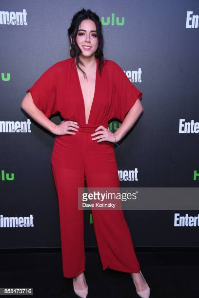 Actress Chloe Bennet attends Hulu's New York Comic Con After Party at The Lobster Club on October 6 2017 in New York City