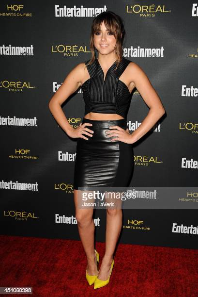 Actress Chloe Bennet attends the 2014 Entertainment Weekly preEmmy party at Fig Olive Melrose Place on August 23 2014 in West Hollywood California