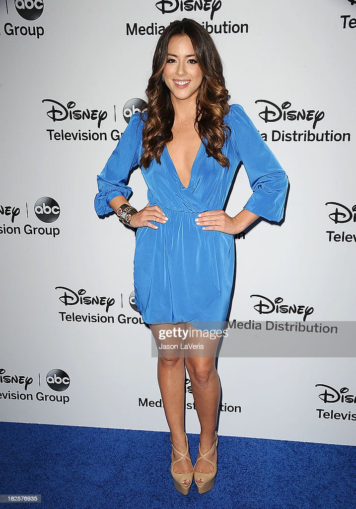 Actress Chloe Bennet attends the Disney Media Networks International Upfronts at Walt Disney Studios on May 19, 2013 in Burbank, California.
