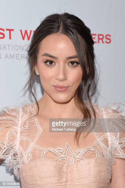 Actress Chloe Bennet attends the East West Players 'Radiant' 51st Anniversary Visionary Awards and silent auction at Hilton Universal City on April...