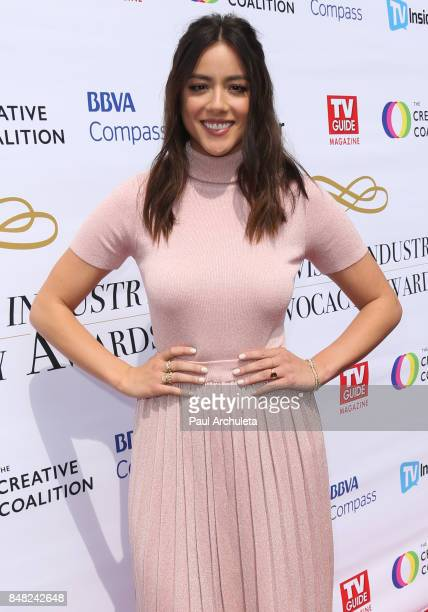 Actress Chloe Bennet attends the Television Industry Advocacy Awards at TAO Hollywood on September 16 2017 in Los Angeles California