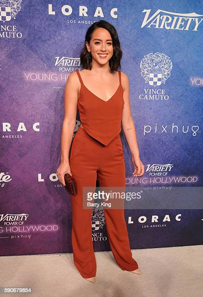 Actress Chloe Bennet attends Variety's Power of Young Hollywood event presented by Pixhug with Platinum Sponsor Vince Camuto at NeueHouse Hollywood...