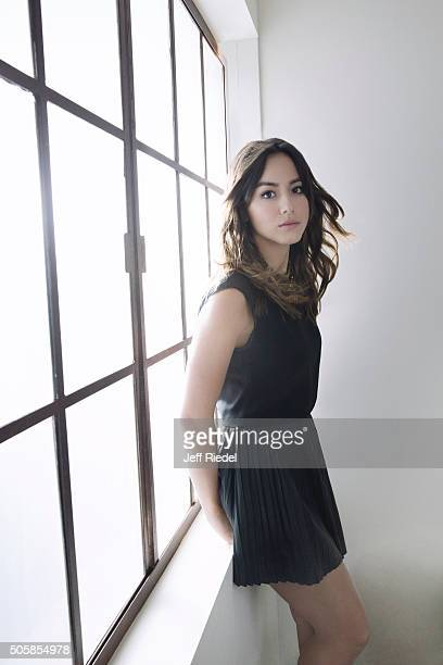 Actress Chloe Bennet is photographed for TV Guide Magazine on January 14 2015 in Pasadena California