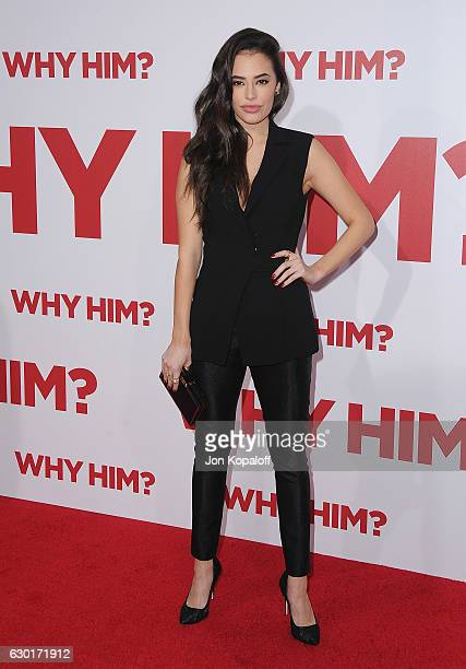 Actress Chloe Bridges arrives at the Los Angeles Premiere Why Him at Regency Bruin Theater on December 17 2016 in Westwood California
