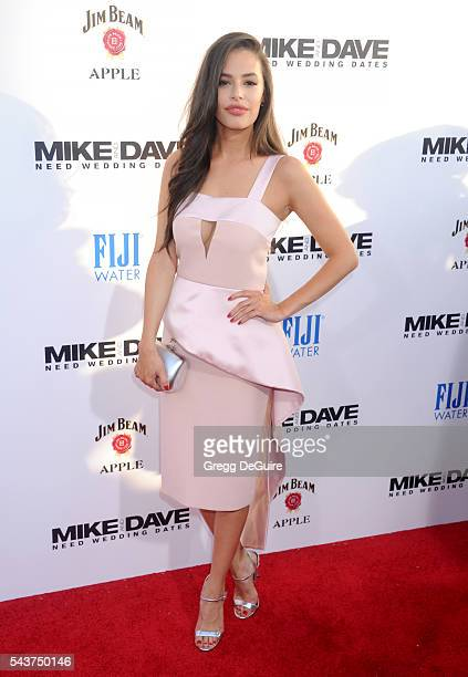 Actress Chloe Bridges arrives at the premiere of 20th Century Fox's 'Mike And Dave Need Wedding Dates' at the Cinerama Dome at ArcLight Hollywood on...