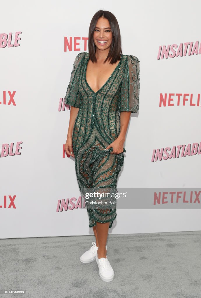 Actress Chloe Bridges attends Netflix's 'Insatiable' season 1 premiere at ArcLight Hollywood on August 9, 2018 in Hollywood, California.