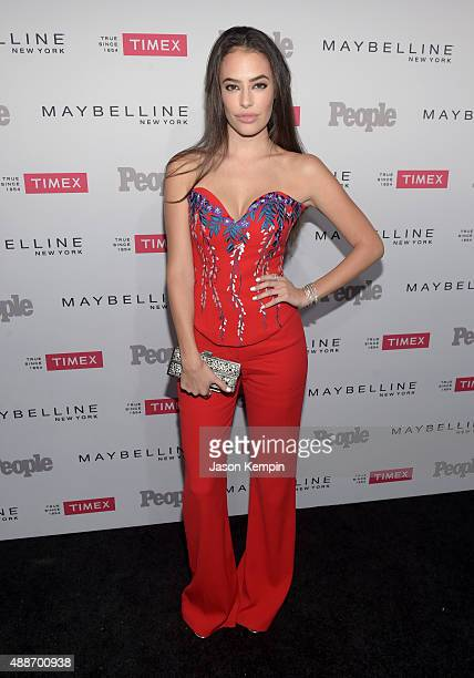 Actress Chloe Bridges attends PEOPLE's Ones To Watch Event on September 16 2015 in West Hollywood California