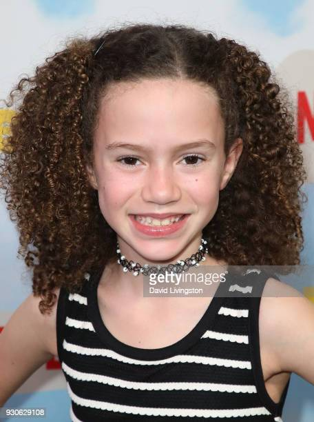 Actress Chloe Coleman attends the premiere of Netflix's Benji at NeueHouse Hollywood on March 11 2018 in Los Angeles California