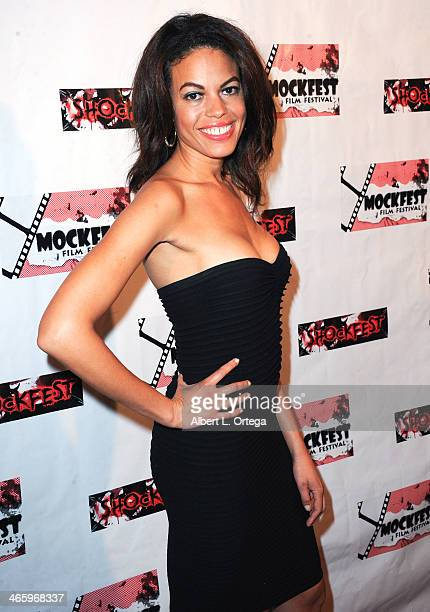 Actress Chloe Damange attends the ShockFest Film Festival Awards held at Raleigh Studios on January 11 2014 in Los Angeles California