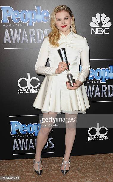 Actress Chloe Grace Moretz arrives at The PEOPLE Magazine Awards at The Beverly Hilton Hotel on December 18 2014 in Beverly Hills California