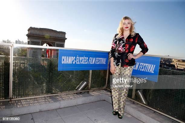 """Actress Chloe Grace Moretz attends """"Come As You Are"""" Premiere during 7th Champs Elysees Film Festival on June 18, 2018 in Paris, France."""