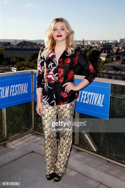 Actress Chloe Grace Moretz attends Come As You Are Premiere during 7th Champs Elysees Film Festival on June 18 2018 in Paris France