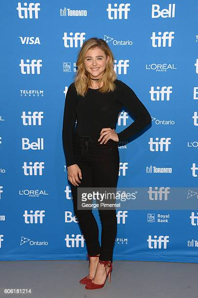 Actress Chloe Grace Moretz attends the 'Brain On Fire' Press Conference during the 2016 Toronto International Film Festival at TIFF Bell Lightbox on...