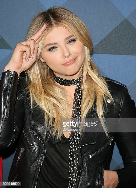 Actress Chloe Grace Moretz attends the Delta Air Lines celebrates 2016 GRAMMY Weekend with 'Sites and Sounds' private performance with Leon Bridges...