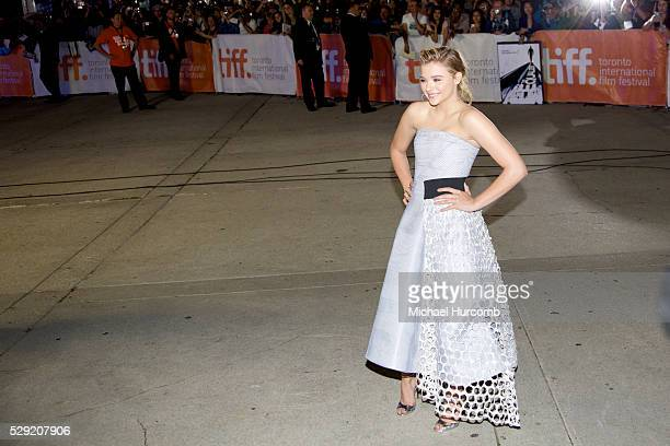 Actress Chloe Grace Moretz attends 'The Equalizer' premiere during the 2014 Toronto International Film Festival