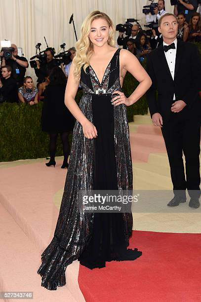 """Actress Chloe Grace Moretz attends the """"Manus x Machina: Fashion In An Age Of Technology"""" Costume Institute Gala at Metropolitan Museum of Art on May..."""