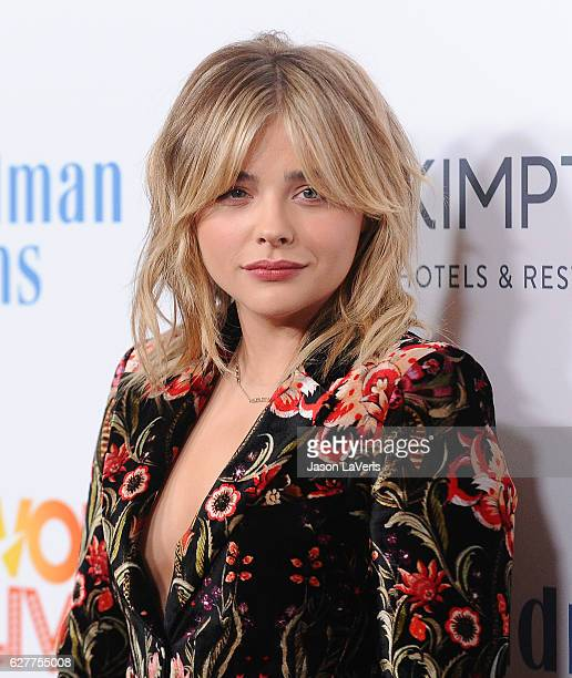Actress Chloe Grace Moretz attends the TrevorLIVE Los Angeles 2016 fundraiser at The Beverly Hilton Hotel on December 4 2016 in Beverly Hills...