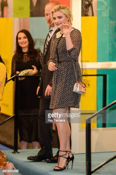 Actress Chloe Grace Moretz enters the CFDA Fashion Awards at Hammerstein Ballroom on June 5 2017 in New York City