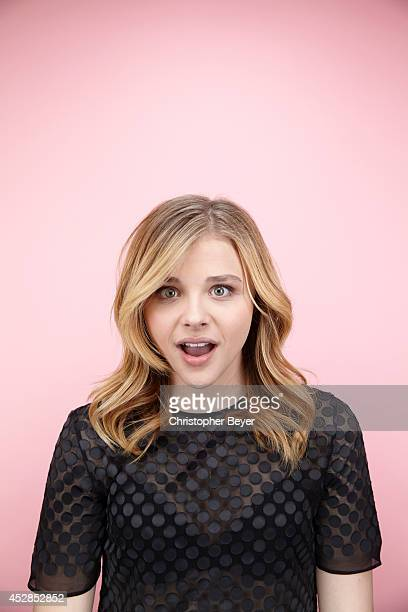 Actress Chloe Grace Moretz is photographed for Entertainment Weekly Magazine on January 25 2014 in Park City Utah