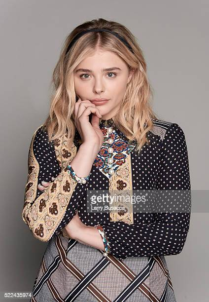 Actress Chloe Grace Moretz poses for a portrait during the Juror Welcome Lunch at the 2016 Tribeca Film Festival on April 14 2016 in New York City