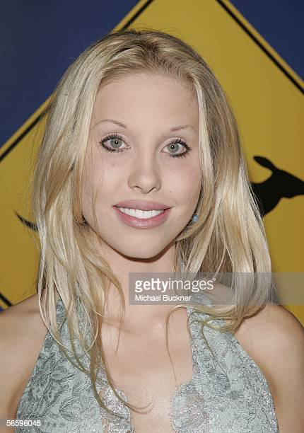 Actress Chloe Lattanzi arrives at the Penfolds Icon Gala presented by G'Day La Australia Week 2006 at the Palladium on January 14 2006 in Los Angeles...