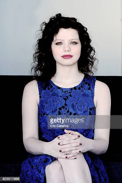 Actress Chloe Levine is photographed for Self Assignment on May 15 2016 in Cannes France