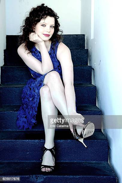 Actress Chloe Levine is photographed for Self Assignment on May 15, 2016 in Cannes, France.