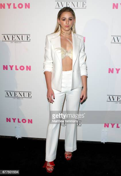 Actress Chloe Lukasiak attends NYLON's Annual Young Hollywood May Issue Event at Avenue on May 2 2017 in Los Angeles California