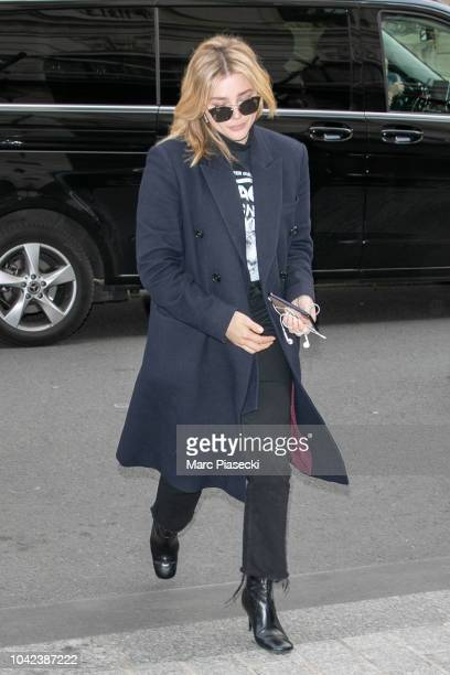ae10c457fb6 Celebrity Sightings In Paris September 28 2018 Stock Photos and ...