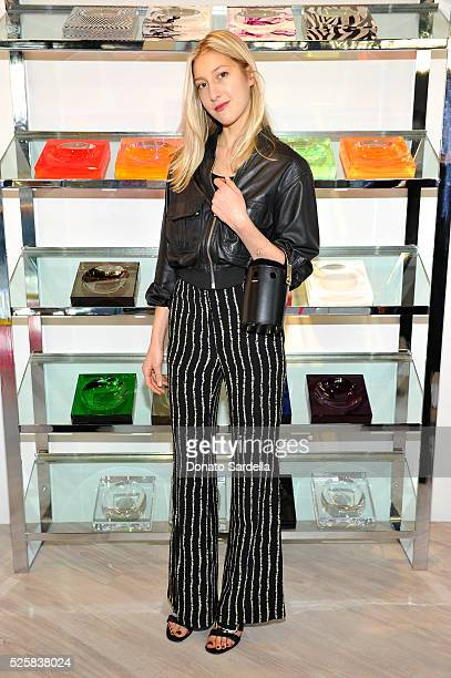 Actress Chloe Perrin attends the opening of the Alexandra Von Furstenberg Los Angeles flagship store on April 28, 2016 in West Hollywood, California.