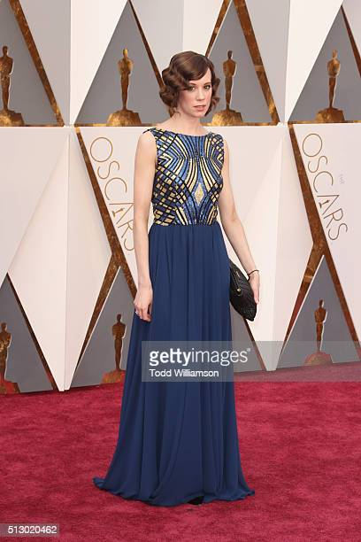 Actress Chloe Pirrie attends the 88th Annual Academy Awards at Hollywood Highland Center on February 28 2016 in Hollywood California
