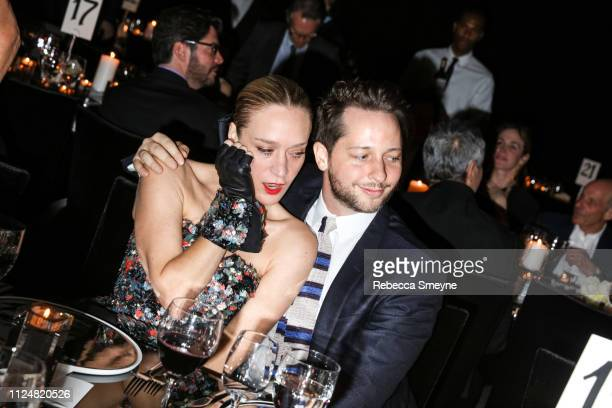 Actress Chloe Sevigny and author Derek Blasberg attend the Museum of Modern Art Film Benefit Presented by Chanel A Tribute to Martin Scorsese at the...