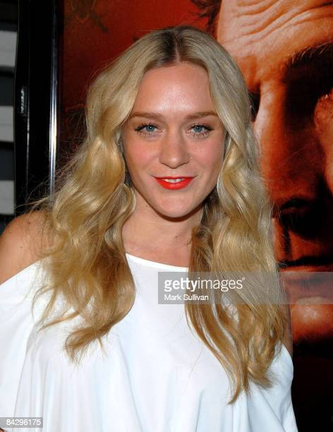 Actress Chloe Sevigny arrives at the 3rd season Los Angeles premiere of Big Love at The Cinerama Dome on January 14 2009 in Hollywood California