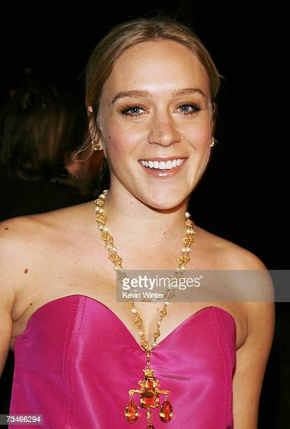 Actress Chloe Sevigny arrives at the premiere of Paramount Picture's 'Zodiac' at the Paramount Theatre on March 1 2007 in Los Angeles California
