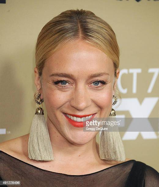 Actress Chloe Sevigny arrives at the premiere screening of FX's 'American Horror Story Hotel' at Regal Cinemas LA Live on October 3 2015 in Los...