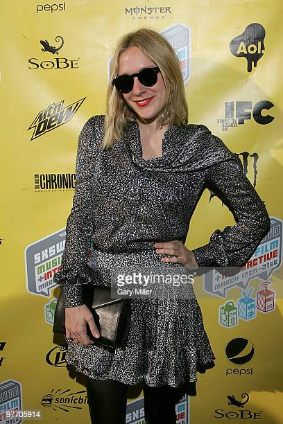 Actress Chloe Sevigny arrives on the red carpet for a screening of Mr Nice at the Paramount Theater during the South By Southwest Film Festival on...