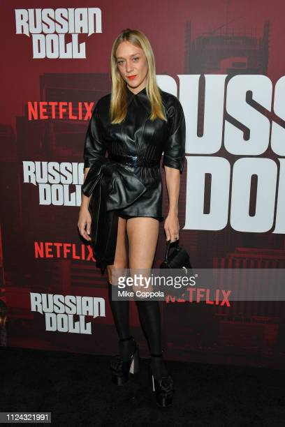 """Actress Chloe Sevigny attend Netflix's """"Russian Doll"""" Season 1 Premiere at Metrograph on January 23, 2019 in New York City."""