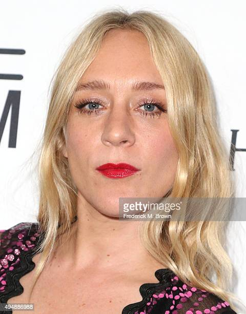 Actress Chloe Sevigny attends amfAR's Inspiration Gala Los Angeles at Milk Studios on October 29 2015 in Hollywood California