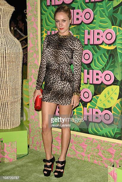 Actress Chloe Sevigny attends HBO's post Emmy Awards party at Pacific Design Center on August 29 2010 in West Hollywood California
