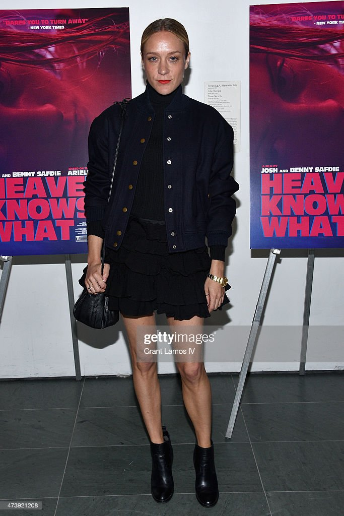 Actress Chloe Sevigny attends 'Heaven Knows What' New York Premiere at the Celeste Bartos Theater at the Museum of Modern Art on May 18, 2015 in New York City.