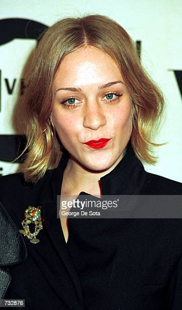 Actress Chloe Sevigny attends the 2000 VH1/Vogue Fashion Awards October 20 2000 at the Theatre at Madison Square Garden in New York City
